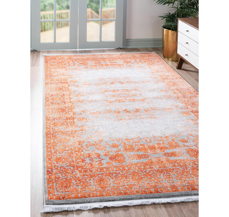 Image of 8' x 11' 4 New Vintage Rug