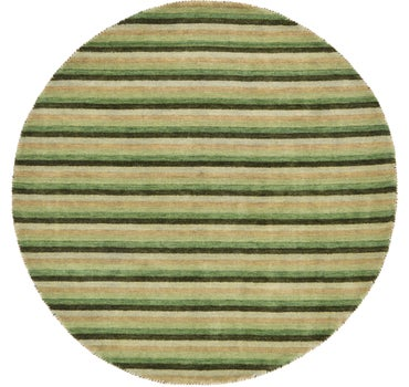 Image of 6' 4 x 6' 4 Indo Gabbeh Round Rug