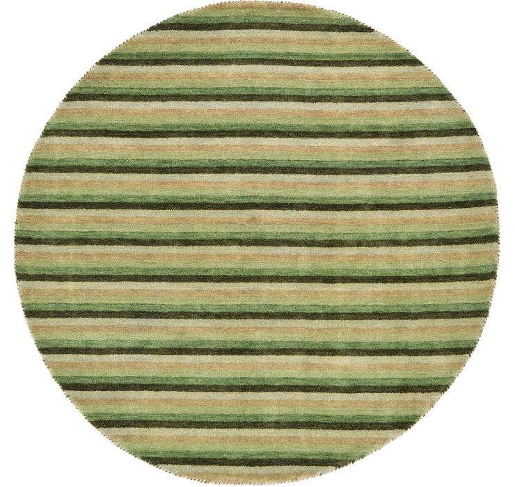 Image of 193cm x 193cm Indo Gabbeh Round Rug