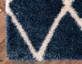 2' 7 x 10' Luxe Trellis Shag Runner Rug thumbnail