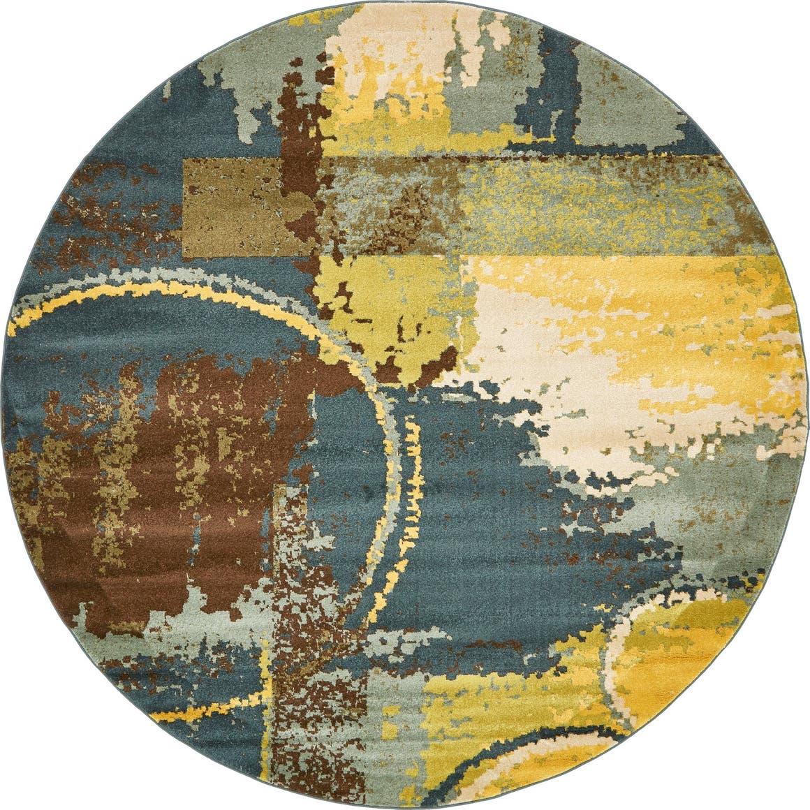 8' x 8' Melange Round Rug main image