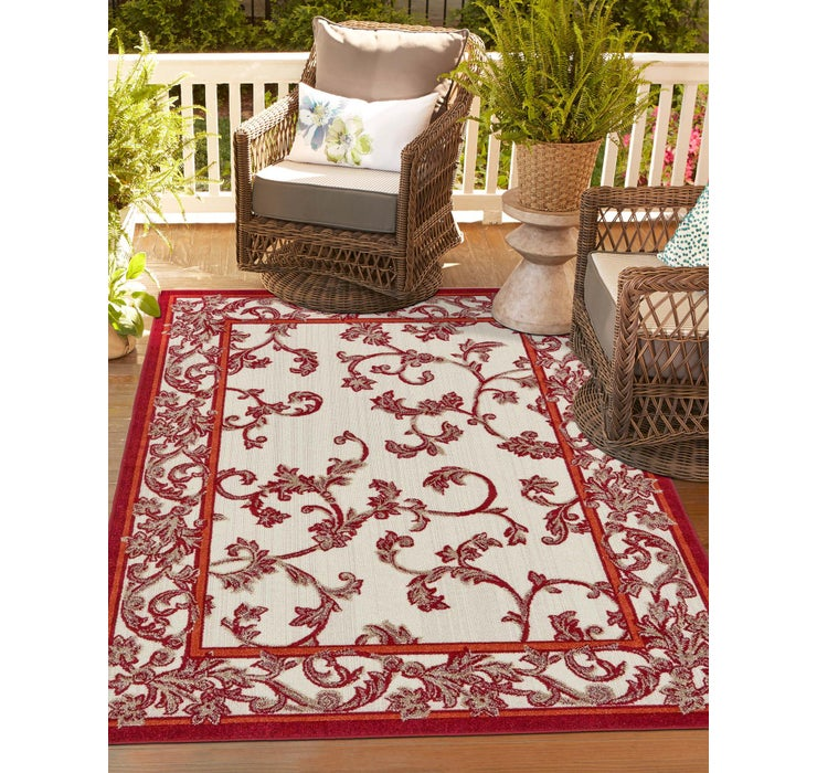 Image of 275cm x 365cm Outdoor Botanical Rug
