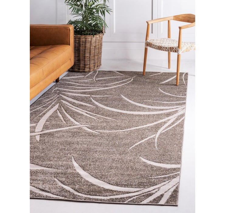 Image of  Brown Outdoor Botanical Rug