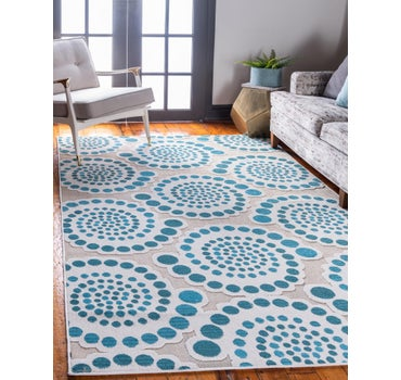 5' x 8' Outdoor Modern Rug main image