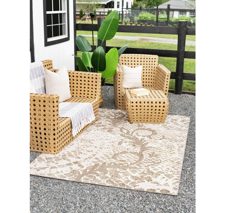 Image of 5' x 8' Outdoor Modern Rug