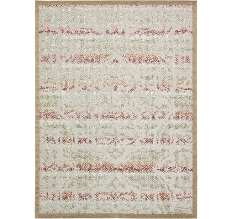 9' x 12' Outdoor Modern Rug