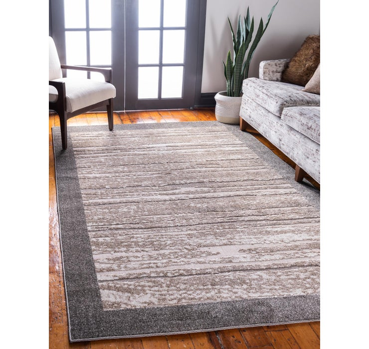 Image of 4' x 6' Outdoor Border Rug