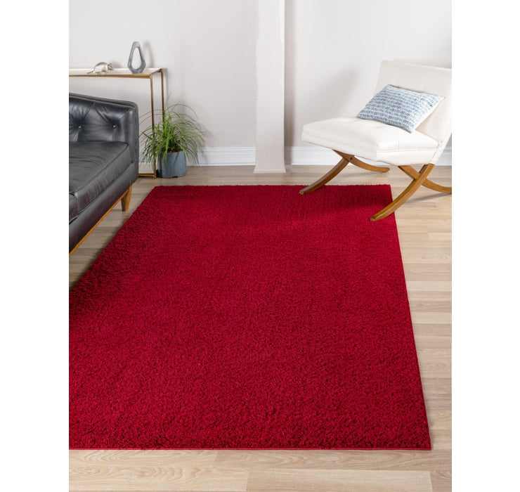 Image of 8' x 10' Studio Solid Shag Rug