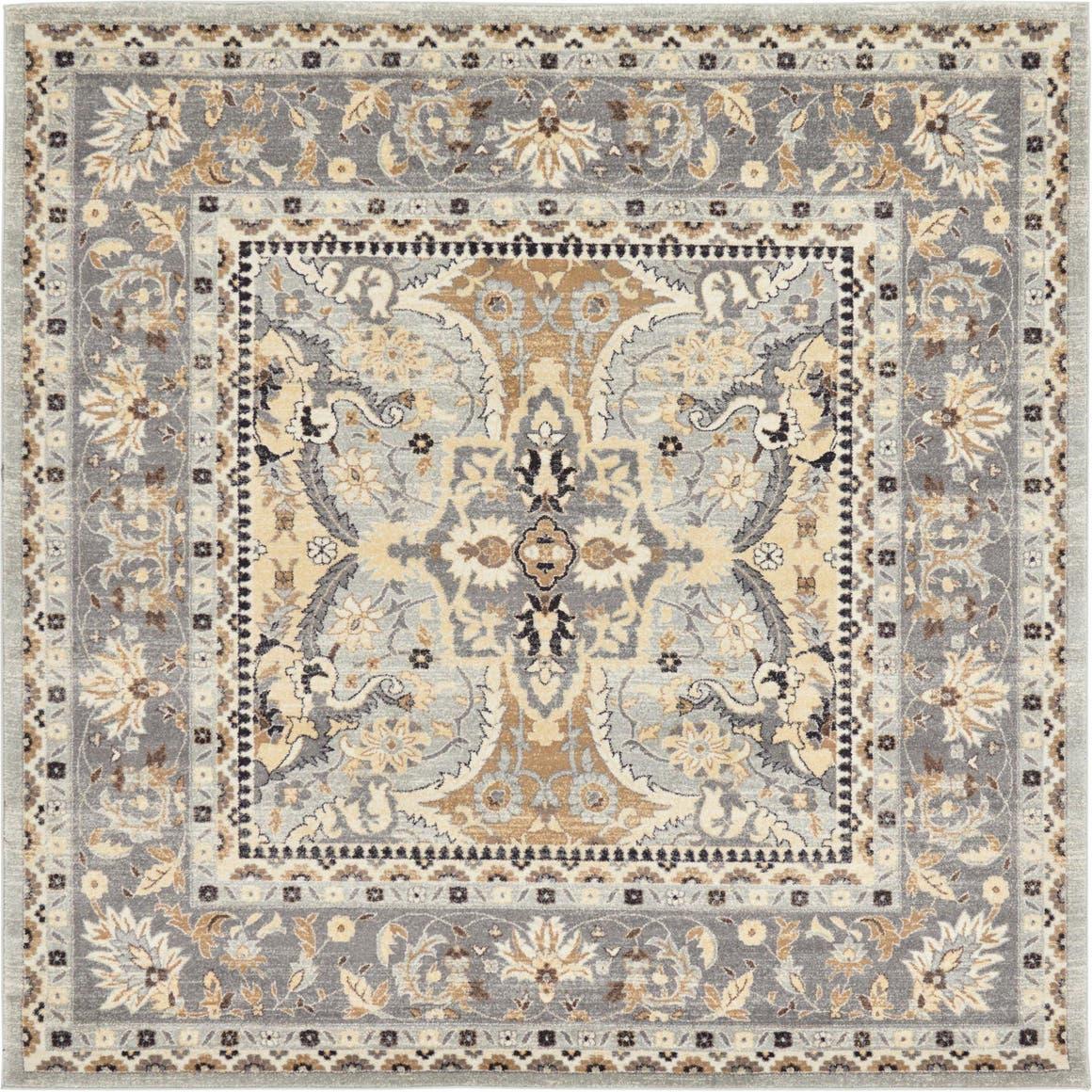 8' 4 x 8' 4 Heritage Square Rug main image