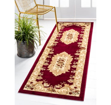 2' 7 x 12' Classic Aubusson Runner Rug main image