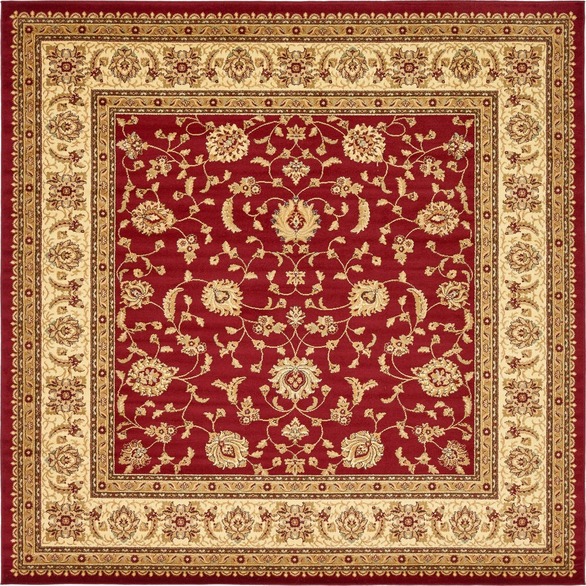 10' x 10' Classic Agra Square Rug main image