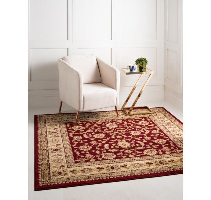 7' 10 x 7' 10 Classic Agra Square Rug