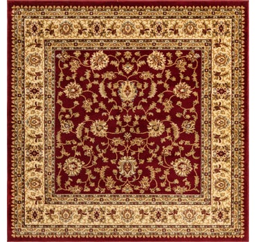 6' x 6' Classic Agra Square Rug main image