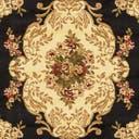 6' x 6' Classic Aubusson Square Rug