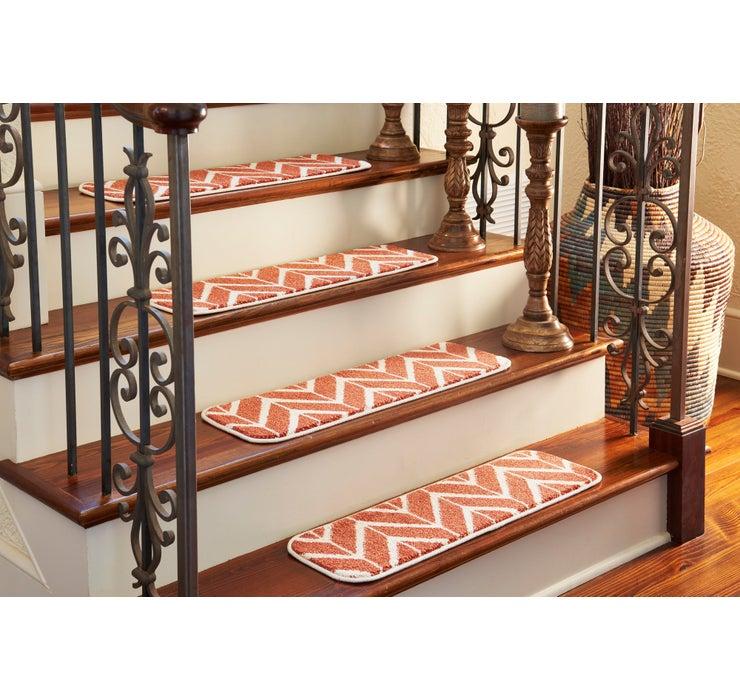 23cm x 75cm Chevron Stair Stair Tre...