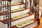 0' 9 x 2' 6 Trellis Stair Stair Tread Rug thumbnail