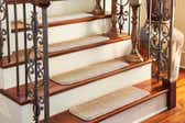 23cm x 75cm Solid Stair Stair Tread Rug thumbnail image 1
