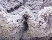 2' x 6' 7 Floral Shag Runner Rug thumbnail