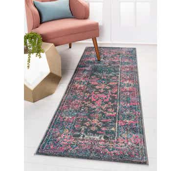 Image of  Gray Delilah Runner Rug