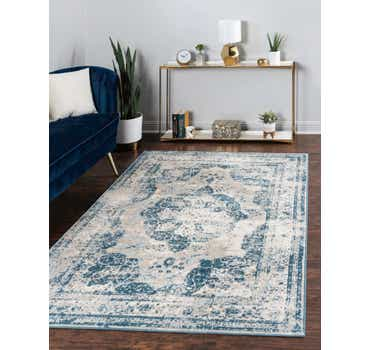 Image of  Blue Monte Carlo Rug