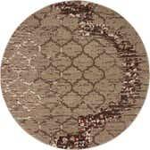 6' x 6' Trellis Round Rug thumbnail