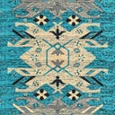 Link to Turquoise of this rug: SKU#3119154