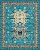8' x 10' Heriz Design Rug thumbnail