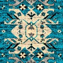 Link to Turquoise of this rug: SKU#3122716