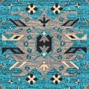 Link to Turquoise of this rug: SKU#3137870