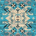 Link to Turquoise of this rug: SKU#3128694