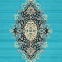 Link to Turquoise of this rug: SKU#3128744