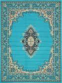 9' 10 x 13' Mashad Design Rug thumbnail