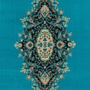 Link to Turquoise of this rug: SKU#3128746