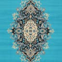 Link to Turquoise of this rug: SKU#3128736