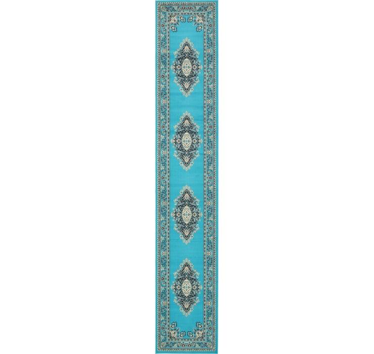3' x 16' 5 Mashad Design Runner Rug