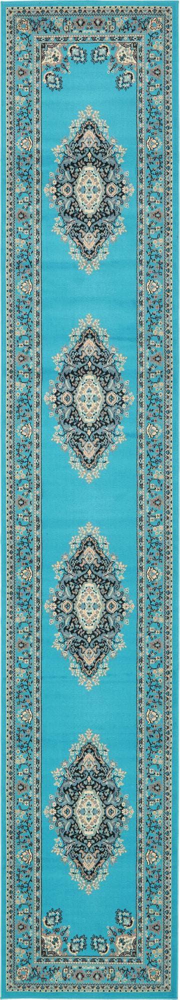 3' x 16' 5 Mashad Design Runner Rug main image