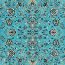 Link to Turquoise of this rug: SKU#3119182