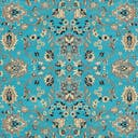 Link to Turquoise of this rug: SKU#3123493