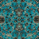 Link to Turquoise of this rug: SKU#3119299