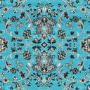 Link to Turquoise of this rug: SKU#3128770