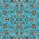 Link to Turquoise of this rug: SKU#3124955