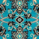 Link to Turquoise of this rug: SKU#3124960
