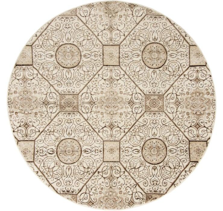 152cm x 152cm Himalaya Round Rug