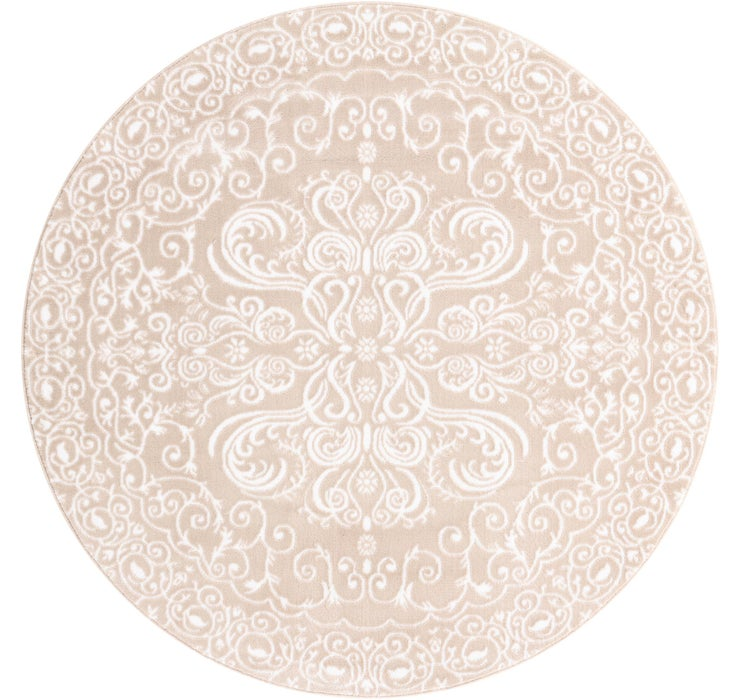 5' x 5' Himalaya Round Rug