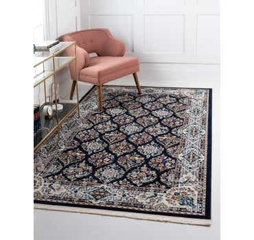 Image of  Navy Blue Rabia Rug