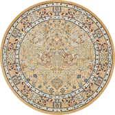 305cm x 305cm Nain Design Round Rug thumbnail