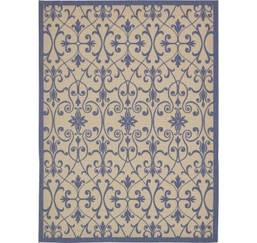 9' x 12' Outdoor Botanical Rug main image