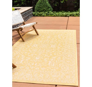 2' x 3' Outdoor Botanical Rug main image