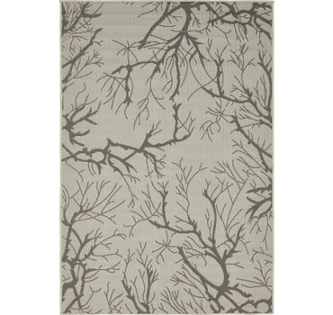 4' x 6' Outdoor Botanical Rug main image