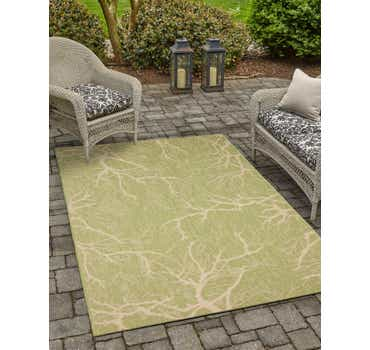 Image of  9' x 12' Outdoor Botanical Rug